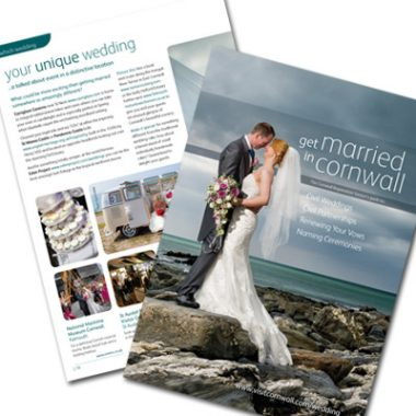 Visit Cornwall - Get Married in Cornwall brochure