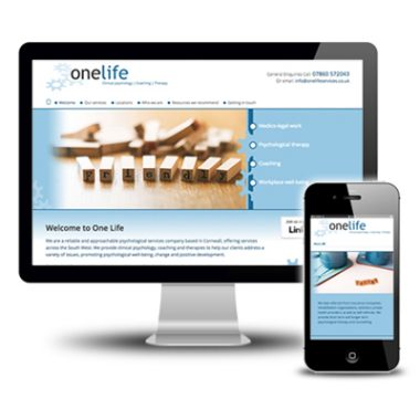 One Life Services website